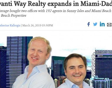Avanti Way Realty expands in Miami-Dade