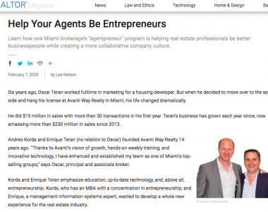 Help Your Agents Be Entrepreneurs